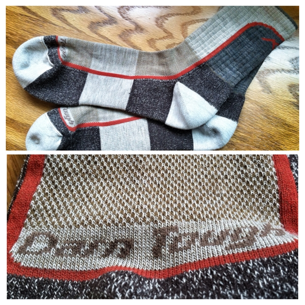 """This is the """"Light Hiker Micro Crew Light Cushion"""" sock by Darn Tough"""